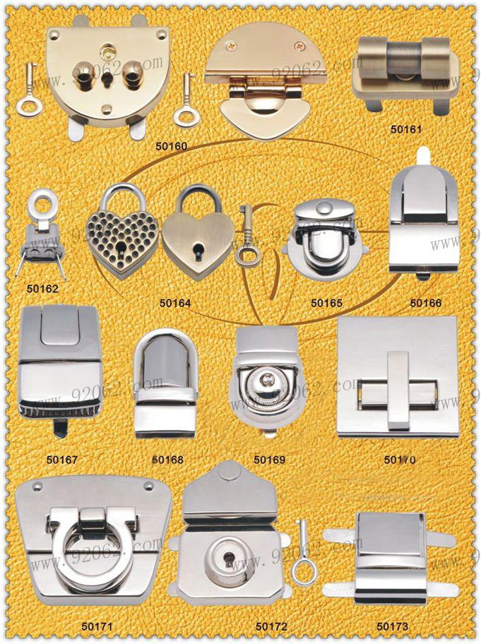 Zinc Alloy Handbag Locks Provided By 92062 Accessories